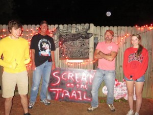 Scream on the Trail Front Gate